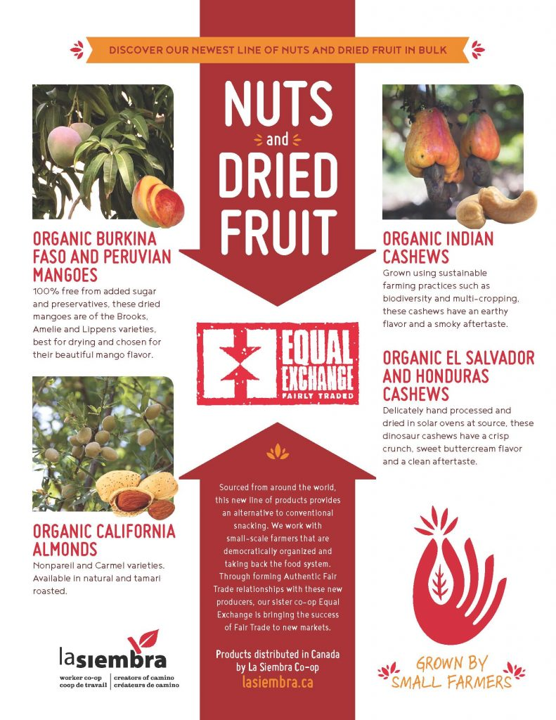Nuts and dried fruit in bulk - Camino
